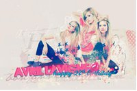 avril lavigne pictures - new x75cm poster wall sticker custom Avril Lavigne th Birthday poster for home decorate accept any picture