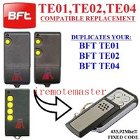 Wholesale For BFT transmitter TE01 TE02 TE04 remote replacement