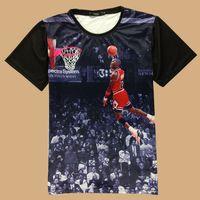 basketball flash game - New fashion men s d print USA all star basketball sports game t shirt men funny t shirt shirts top tees