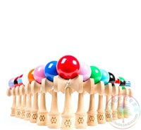 Wholesale FEDEX IP IE Table tennis as smooth and spherical kendama outdoor Adult educational PU Paint tribute