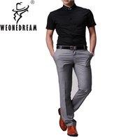 Wholesale 2016 New Spring Summer Western style Man trousers Men s Dress Trouser Men slim suit pants male skinny casual Dress Pants