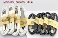Wholesale 10000pcs1m FT V8 Micro USB data sync cable cord For Samsung Galaxy S4 S3 N7100 Note Blackberry HTC Nokia Sony Z3 short pin Charging Cable