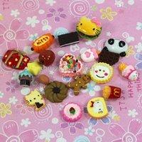 Wholesale D0084 Hot sale children kids Dollhouse Miniature Toy Kitchen Food Dessert cakes mini DIY resin toys
