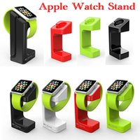 Wholesale Hot selling Light Stand For Apple Watch Magnetic Charger For Apple Watch Phone Wireless Charging Stand Holder Dock For iPhone Watch E7 Stand