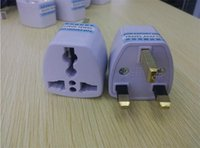 Wholesale uk converter plug For export only Travel Adapte Universal US EU to UK AC Power Charger Outlet Plug Converter