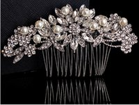 Wholesale 2015 HB00023 New Arrival Fashionable Popular Beautiful Lace Flowers Bridal Hair Accessories Hair Bands Headband Bridal Jewelries