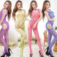 Cheap High quality latest net sexy lingerie sex underwear nighty dress one-piece bodysuit lingerie sexy clothes hole plus size