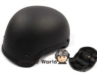 Wholesale Airsoft Tactical Combat Basic for Mich Glass Fiber Classic Protective Helmet For Paintball Hunting Movies Prop Cosplay order lt no trac