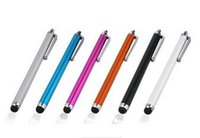Wholesale A Stylus Pen Capacitive Touch Screen For Tablet iPod iPad cellphone iPhone S s Touch pen
