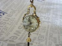 Wholesale Hot Sale pendent pocket watches antique crystal ball fob watches ladies men quartz necklace watch