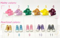 doll shoes - pairs cm Plastic Doll Fashion Sports Shoes for Blythe BJD Dolls Ball Joints Doll Accessory Shoes Colors
