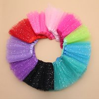 festival clothing - Festival Girls TUTU Dress With Tinsel Girls Ballet Costumes Party Clothes Girls Clothes Lovely Lace Skirt DR32