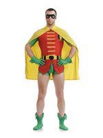 Wholesale Batman and Robin Original Dick Grayson Robin Spandex Superhero Costume