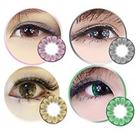 big blossoms - Plum blossom Colorful Cosmetic contact lenses eye color yearly use DIA mm Coloured contacts eye color Freeshipping