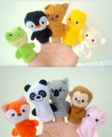 Cheap Wholesale-Free shipping !Animal style means even story telling props parent-child toys 10