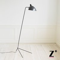 Wholesale Replica Item Serge Mouille lights Designer lighting rion black white one head Modern floor lamp