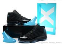 Wholesale Jordan Mens Basketball Shoes Retro Gamma Blue Nike Air Jordan XI basketball shoes for men Running Shoes Men s Sports Shoes