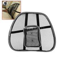 mesh chair office chair - New Black Mesh Lumbar Massage Back Brace Support Office Home Car Seat Chair Cushion