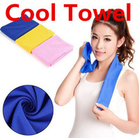 Wholesale Cold Towels Baths Ice Towel Factories Exercise Sweat Summer Sports Ice Cool Towel Hypothermia Cooling Towel cm For Children Adult