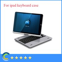 10.1'' 360 keyboard case - Top grade Degree Rotatable Bluetooth wireless keyboard case for Apple iPad air case with keyboard inch Tablet keyboard Rotating case