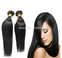 Wholesale Indian virgin hair per natural black A unprocessed indian human hair products Indian silky straight