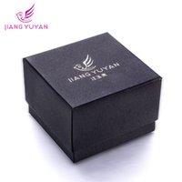 Wholesale Jiang Yuyan jianyuyan watch box black gift box packaging watch box