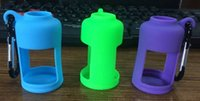 liquid silicone - High quality silicone case for e liquid bottle colorful ml e juice bottles carrying case e juice holder for vape DHL