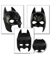 batman costume accessories - 2015 Real Airsoft Mask Darth Vader Halloween Costume Party Mask Cartoon Simulation Male Children Adults Batman Black Plastic And Half Face