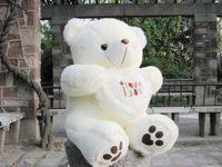 valentine bear plush bear stuffed bear - stuffed plus animals beige color Giant Big Plush Teddy Bear Soft Gift for Valentine Day Birthday cm inch
