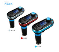Wholesale Car MP3 Player FM Wireless Transmitter Dual USB SD Car Charger Kit Bluetooth