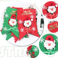 banner hanging kit - Enfeite De Natal Christmas Flag Hanging Party Santa Claus Snowman Patternflags Banners Kits Decorations For Home Supplies