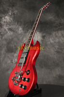 Cheap Speical New Arrival Red SG With Bigbys Electric Guitar High Quality Wholesale Free Shipping