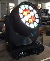 bee flight - big bee eyes moving head beam light with flight case x15w rgbw in1 led beam wash stage lighting