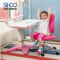 Wholesale West Hao suit lifting tables and chairs for children to learn desk desk wooden desk study tables and chairs for children free sh