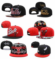red bull - 2015 Chicago Bull Snapback Caps Adjustable Basketball Snap Back Hats Black Trukfit Hip Hop Snapbacks High Quality Players Sports