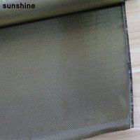 high tensile strength - 3K Carbon Fiber Fabric Plain Weave Gold g mm Thickness High Strength Anti tensile Real Carbon Fiber Yarn