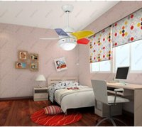 Wholesale W super quiet sound ceiling fan light with drawstring control switch for children