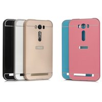 asus mobile pc - Metal Frame PC Acrylic Back Mobile Phone Cover Case For Asus Zenfone Selfie ZD551KL Zenfone ZE551ML