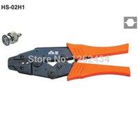 belden fiber - HS H1 RATCHET CRIMPING PLIER EUROPEAN STYLE RG58 X FIBER OPTIC BELDEN