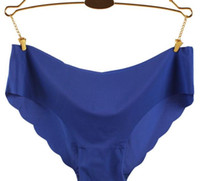 Wholesale Dream Hot Original New Ultra thin Women Seamless Traceless Sexy lingerie intimates Underwear Thong Panties Briefs