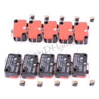 Wholesale 10pcs V C25 Long Hinge Roller Lever AC DC Micro Switch
