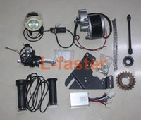 bike motor kit - 24V V W W ELECTRIC MOTORIZED ELECTRIC DRIVE BIKE CONVERSION KIT E BICYCLE KIT E BIKE MOTOR SET DIY ELECTRIC MOTOR KIT