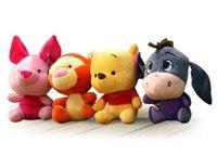 tigger - Winnie the Pooh Plush Toy Anime Movie TV Pooh bear Piglet Tigger Eeyore Stuffed Doll Hot Toys Children Birthday Gifts Cartoon Animal Toy