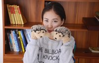 Wholesale 100pair Hot New Fashion Lovely Animal women s Winter Pure manual weaving Thick Knitted Gloves Warm Twist Mittens colors