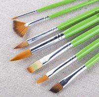 Wholesale 7pcs set set wholesales price nylon pinceis de maquiagem to gobal