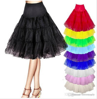 121 - 2016 Colorful Petticoats Wedding Petticoat Black Underskirt A Line Bridal Crinoline For Cocktail Homecoming Party Dresses Made In China