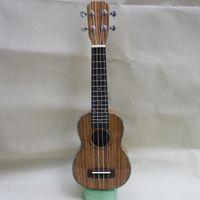 Wholesale 21 inches zebra wood quality Hawaii ukulele polished ukulele