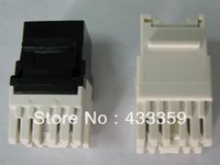 rj45 keystone jack - degree UTP RJ45 cat5e keystone jack with dustproof gate