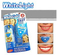 Wholesale White Light IONIC Fast Teeth Whitening System LED Tooth Whiten Kit Personal Dental Care Whitening Teeth Tool via DHL