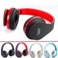 Wholesale Foldable Wireless Stereo Bluetooth Headphone Earphone For iPhone Laptop Mobile